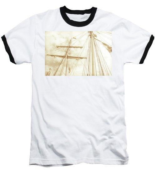 Tall Ship - 1 Baseball T-Shirt