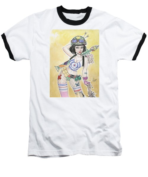 Tank Girl Baseball T-Shirt