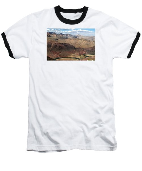 Tanner Rapids And The Colorado River Grand Canyon National Park Baseball T-Shirt