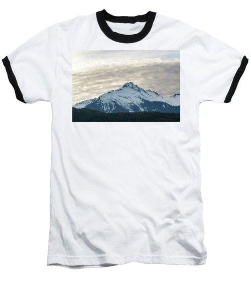 Tantalus Mountain Range Closeup Baseball T-Shirt