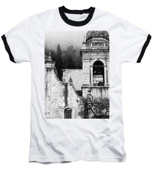 Taormina Church Detail Baseball T-Shirt by Silvia Ganora