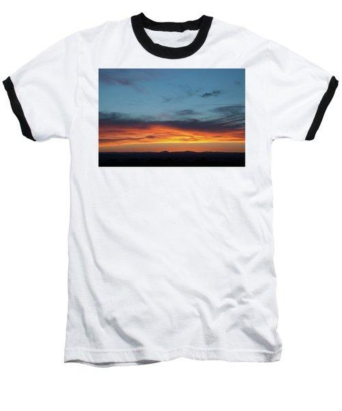 Taos Mesa Sunset Baseball T-Shirt