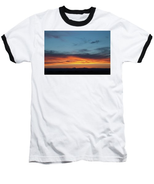 Taos Mesa Sunset Baseball T-Shirt