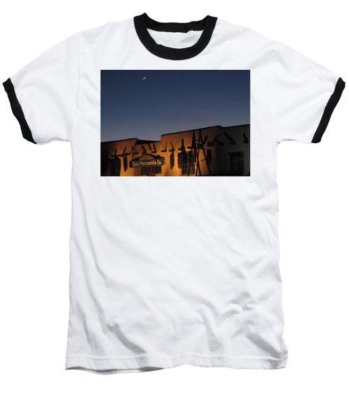 Taos Plaza Baseball T-Shirt