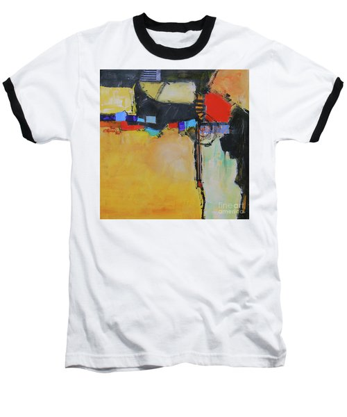 Baseball T-Shirt featuring the painting Targeted by Ron Stephens