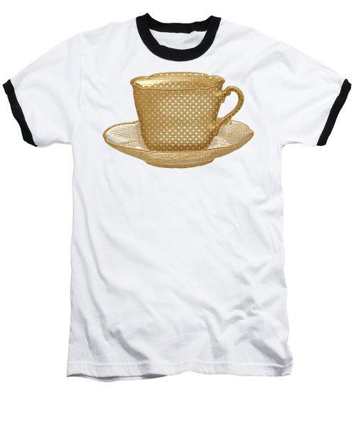 Teacup Garden Party 3 Baseball T-Shirt