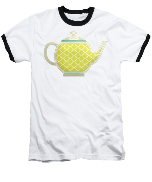 Teapot Garden Party 2 Baseball T-Shirt