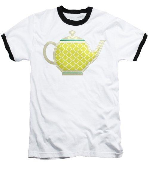 Teapot Garden Party 2 Baseball T-Shirt