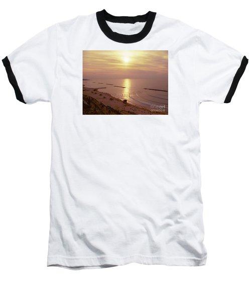 Tel Aviv Beach Morning Baseball T-Shirt by Gail Kent