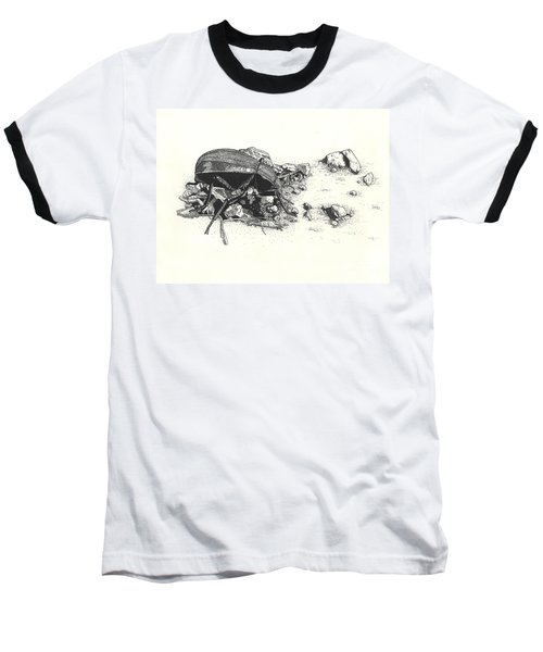 Darkling Beetle Baseball T-Shirt