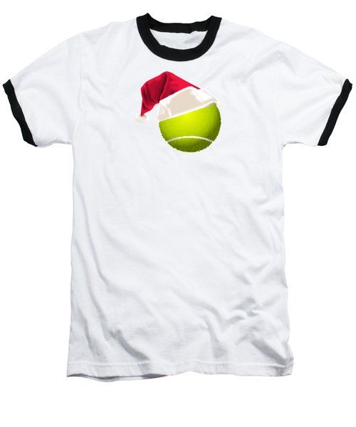 Tennis Christmas Gifts Baseball T-Shirt by MGdezigns
