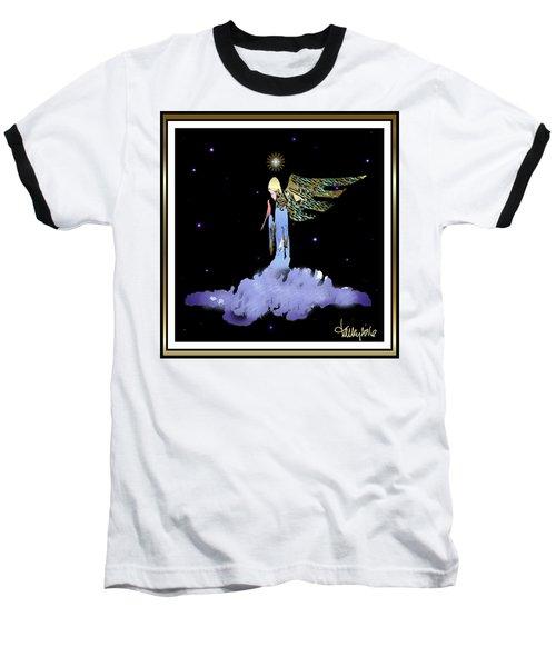 Heavenly Visit Baseball T-Shirt