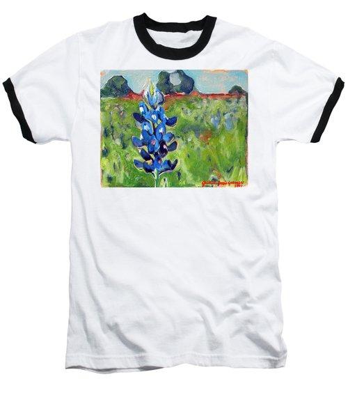 Texas Blue Bonnet Baseball T-Shirt