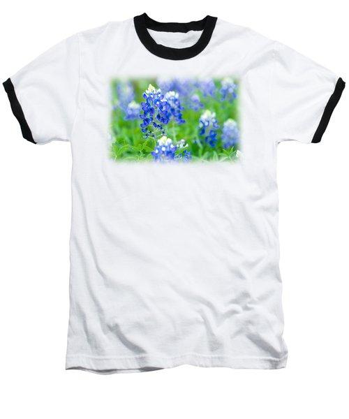 Texas Bluebonnet T-shirt Baseball T-Shirt