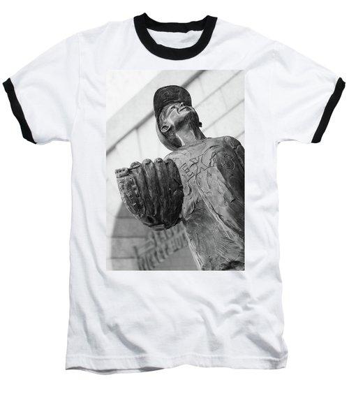 Texas Rangers Little Boy Statue Baseball T-Shirt