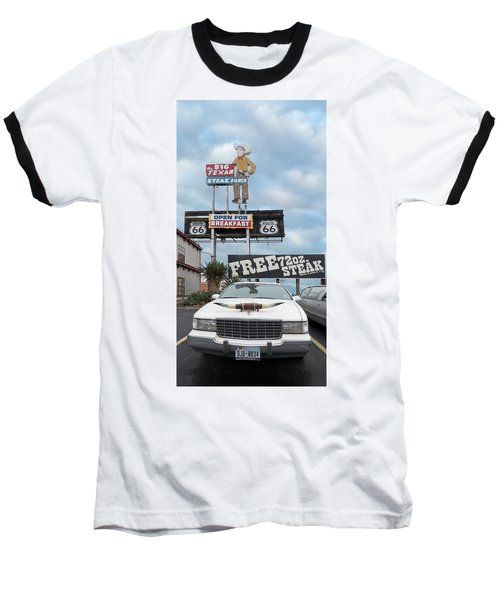 Texas Steak House Kitsch  Baseball T-Shirt