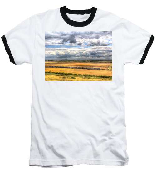Thames Estuary View Baseball T-Shirt