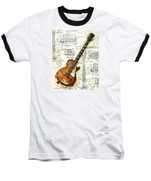 The 1955 Les Paul Custom Baseball T-Shirt by Gary Bodnar