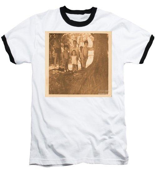 The 70's Series - 1 Baseball T-Shirt by Beto Machado