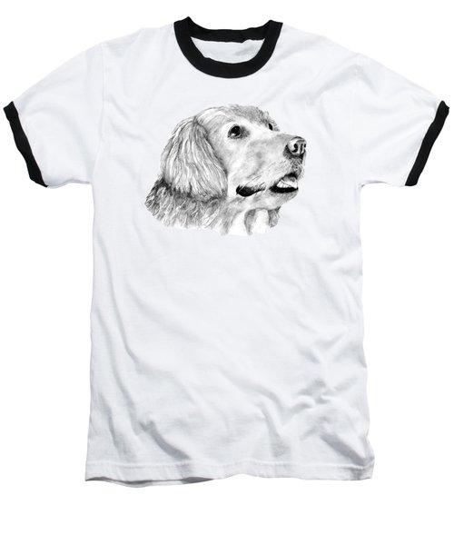 The Amanda Look Baseball T-Shirt by John Stuart Webbstock
