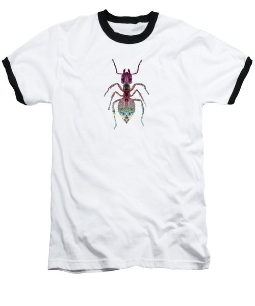 The Ant Baseball T-Shirt by BittenByErmines