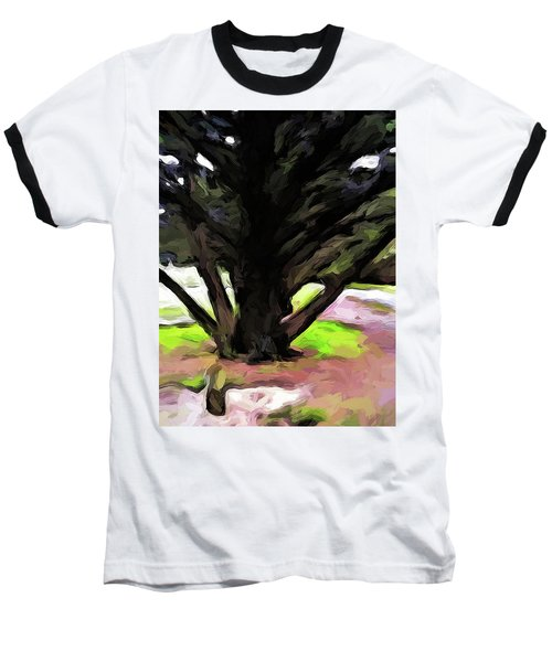 The Avenue Of Trees 1 Baseball T-Shirt