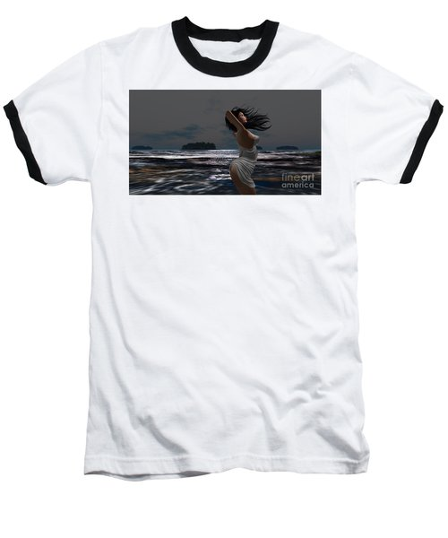 The Beach 2 Baseball T-Shirt