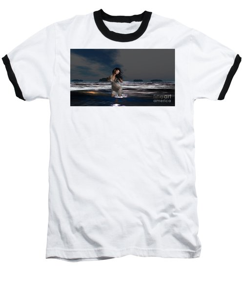 The Beach 5 Baseball T-Shirt