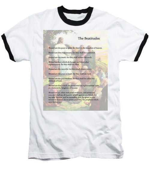 The Beatitudes Baseball T-Shirt