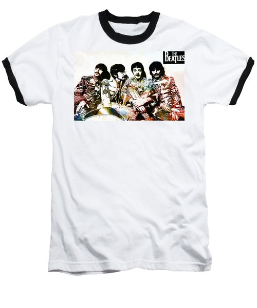 The Beatles--sargent Peppers Lonely Hearts Club Band Baseball T-Shirt