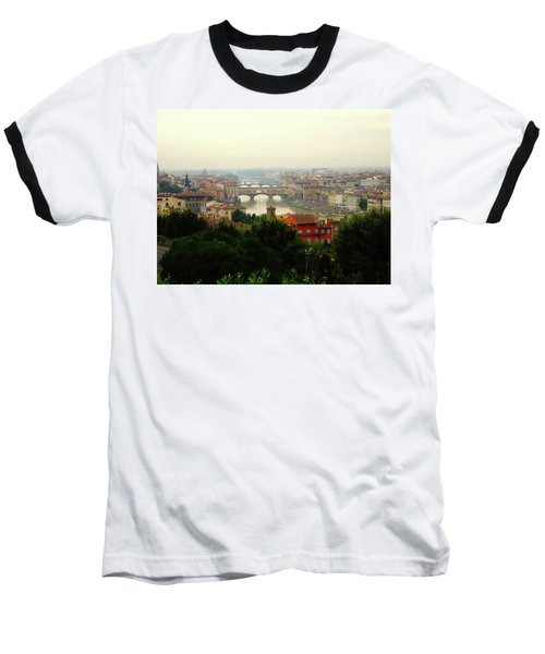 Baseball T-Shirt featuring the photograph The Beauty Of Florence  by Alan Lakin