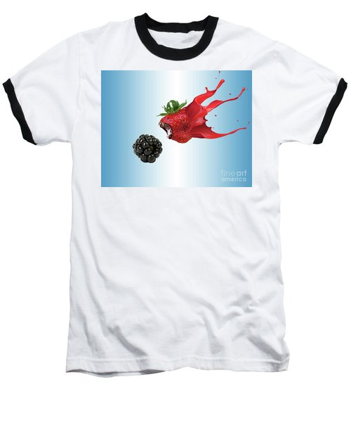 Baseball T-Shirt featuring the photograph The Berries by Juli Scalzi