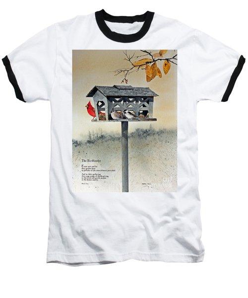 The Birdfeeder Baseball T-Shirt