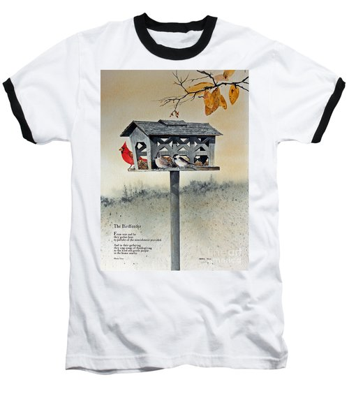 The Birdfeeder Baseball T-Shirt