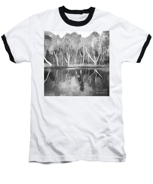 The Black And White Autumn Baseball T-Shirt