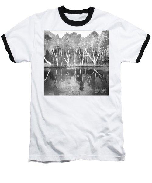 The Black And White Autumn Baseball T-Shirt