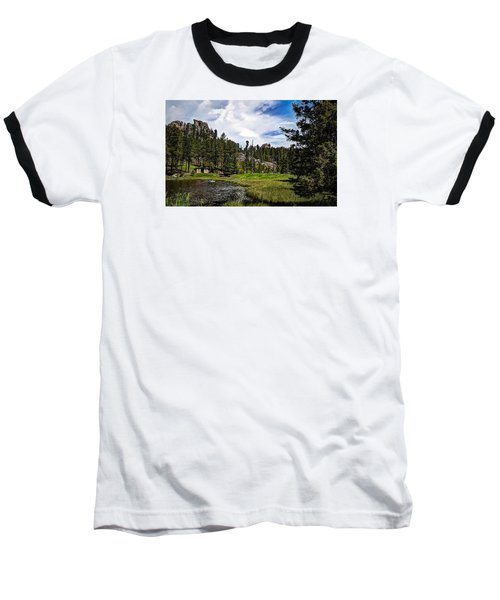 Baseball T-Shirt featuring the photograph The Black Hills Of Custer State Park by Deborah Klubertanz