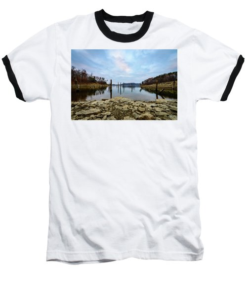 The Bottom Of The Lake Baseball T-Shirt