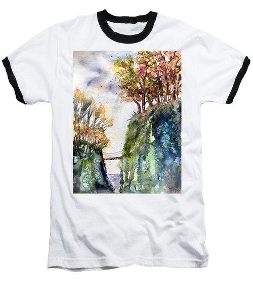 The Bridge Between Two Worlds Baseball T-Shirt