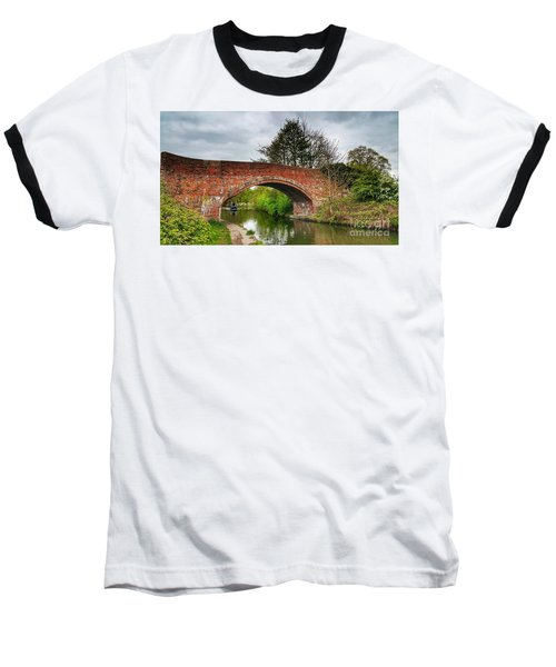 Baseball T-Shirt featuring the photograph The Bridge by Isabella F Abbie Shores FRSA