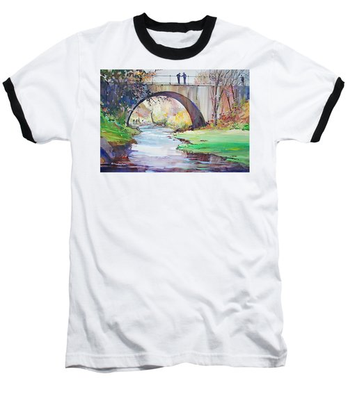 The Bridge Over Brewster Garden Baseball T-Shirt