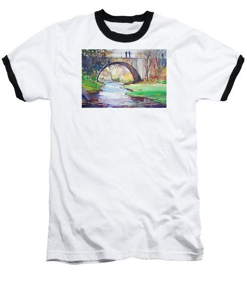 The Bridge Over Brewster Garden Baseball T-Shirt