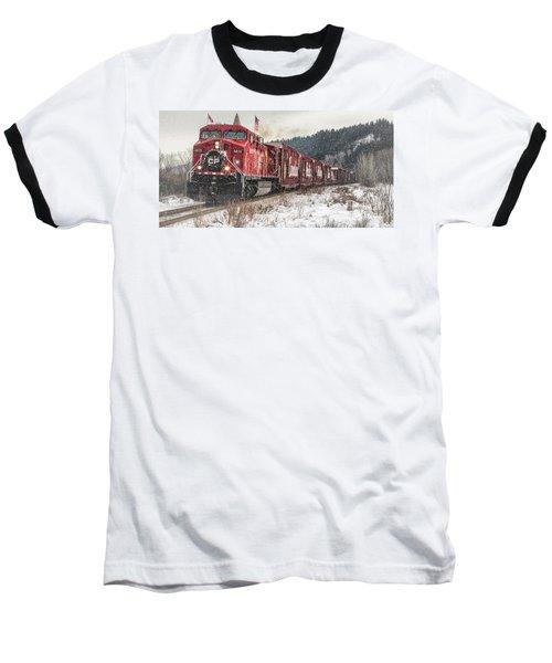 The Canadian Pacific Holiday Train Baseball T-Shirt