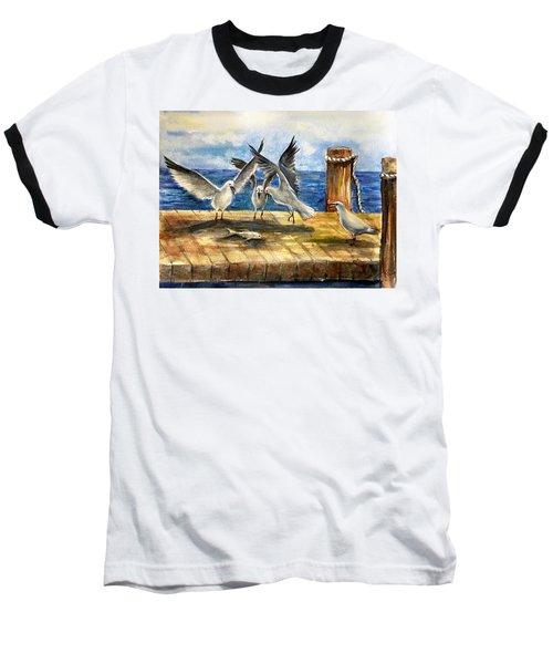 The Catch Is Mine Baseball T-Shirt