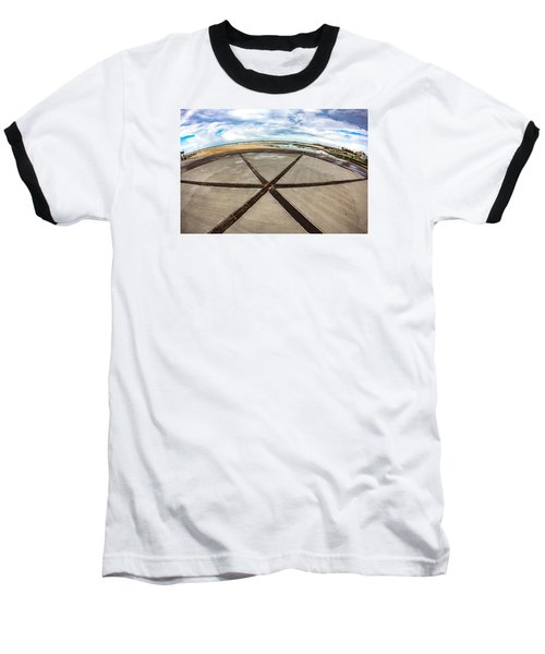 The Center Of The Earth Baseball T-Shirt