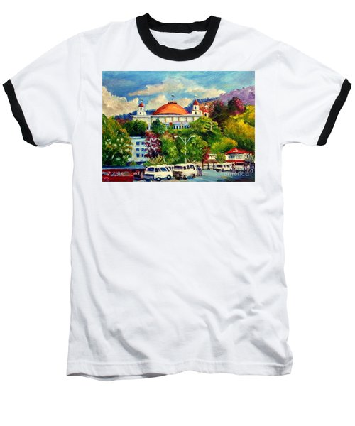 The Central Taxi Terminal In Jayapura Baseball T-Shirt