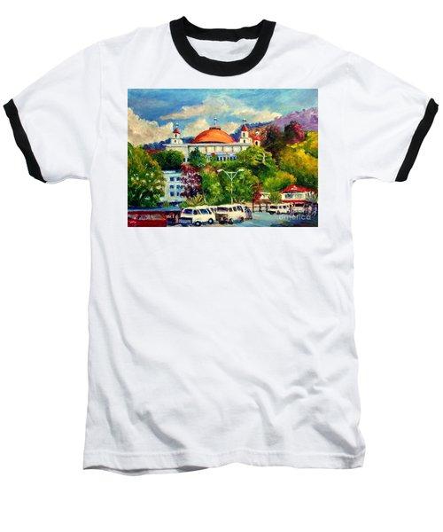 The Central Taxi Terminal In Jayapura Baseball T-Shirt