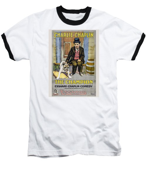 The Champion Chaplin Comedy Baseball T-Shirt