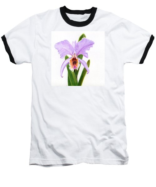 The Christmas Orchid Baseball T-Shirt