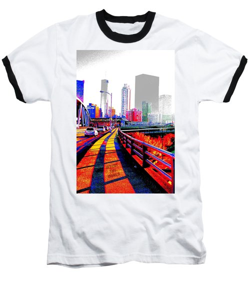 The City  Baseball T-Shirt